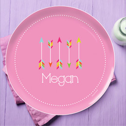 Colorful Arrows Kids Dinnerware