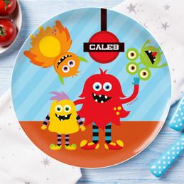Monster Attack Kids Dinnerware
