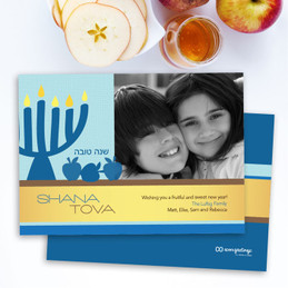 Jewish Holiday Cards | Blue Apples