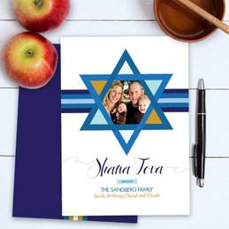 Jewish New Year Greetings | Shana Tova Star