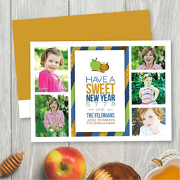 Jewish New Year Cards | Sweet Honey Apples