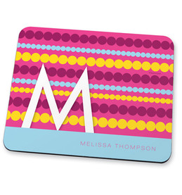Simply pink dots Mouse Pad