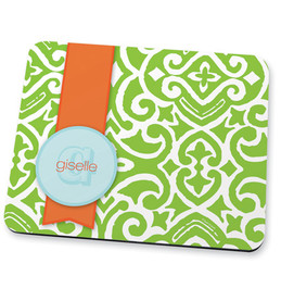 Gorgeous green style Mouse Pad