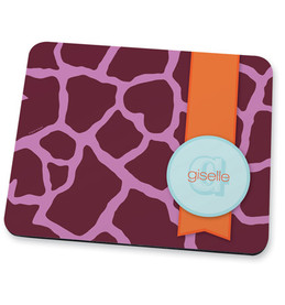 Cute purple rocks Mouse Pad