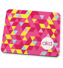 Dynamic pink ways Mouse Pad