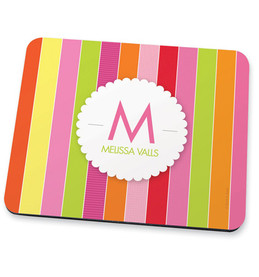 Bold and fun stripes Mouse Pad