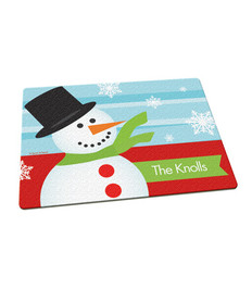 Hello Snowman Cutting Board