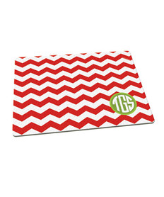 Chevron Initials Cutting Board