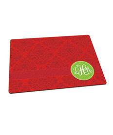 Minimalist Damask Cutting Board