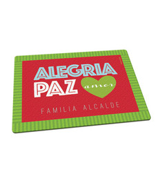 Alegria, Paz y Amor Cutting Board
