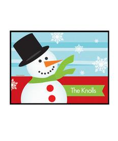 Hello Snowman Doormat