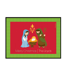 Christmas Nativity Doormat