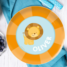 Cute baby Lion Kids Dinnerware