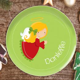 Sweet Angel Kids Plate