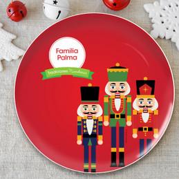 La Tradicion de el Cascanueces Personalized Christmas plate