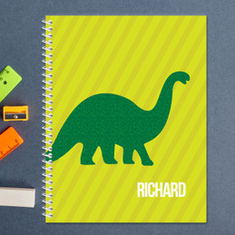 Dino and Me Green Kids Notebook