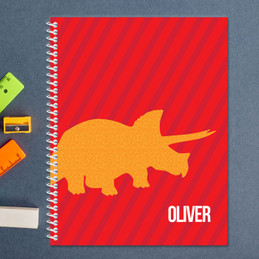 Dino and Me Red Kids Notebook