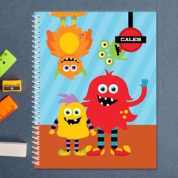 Monster Attack Kids Notebook