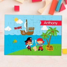 Yo Ho Pirate Personalized Puzzles