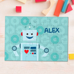 My own robot Personalized Puzzles