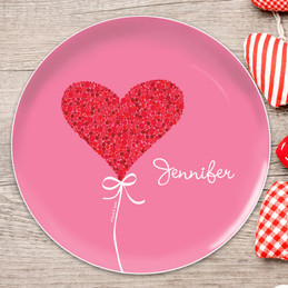 Sweet Heart Kids Plates