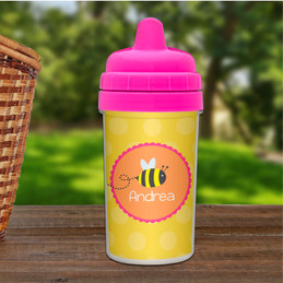 Fly little bee sippy cup for boys