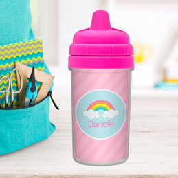 A Rainbow in the Sky Sippy Cup for Toddlers