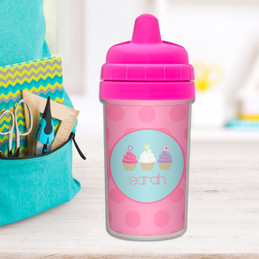 Three Cupcakes Sippy Cups