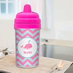Best Sippy Cup with Sweet Pink Whale Design