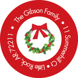Holiday Joy Christmas Address Labels