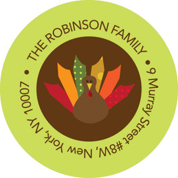 A Thanksgiving Wish Address Labels