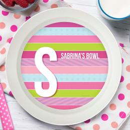 Sweet Lines Kids Bowl