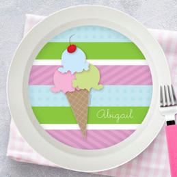 Yummy Ice Cream Kids Bowl