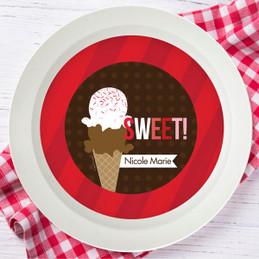 Sweet & Yummy Red Kids Bowl