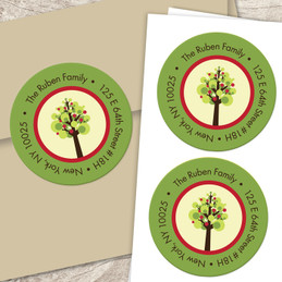 Mod Apple Tree label