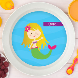 Cute Mermaid Kids Bowl