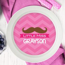 Little Miss Mustache Kids Bowl