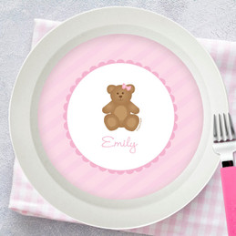 A Sweet Teddy Bear Kids Bowl