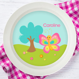Cute and Sweet Butterfly Kids Bowl