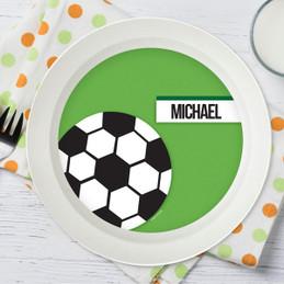 Soccer Fan Green Kids Bowl