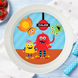 Monster Attack Kids Bowl  sc 1 st  Spark u0026 Spark & Personalized Monster gifts for kids | Robot Gifts for Kids | Spark ...