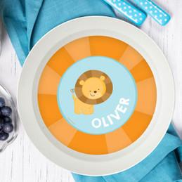 Cute Baby Lion Kids Bowl