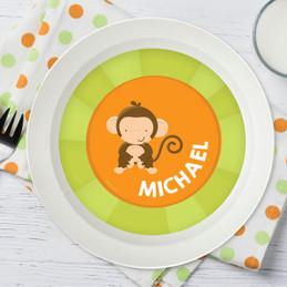 Cute Baby Monkey Kids Bowl