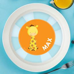 Cute Baby Giraffe Kids Bowl