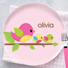 Singing Birds Kids Dinnerware