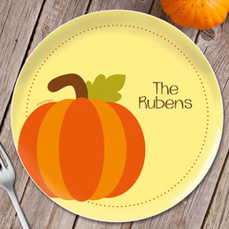 Ready for Pumpkin Holiday Plate