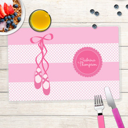 My Ballerina Shoes Kids Placemat