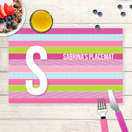 Sweet Lines Kids Placemat