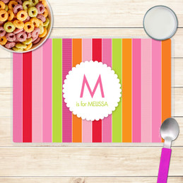 Bold & Fun Stripes Kids Placemat