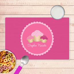 Sweet Cupcakes Kids Placemat